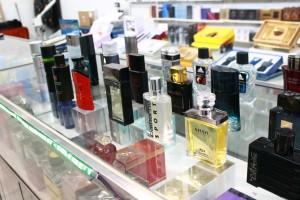 Boutique de parfums et produits de beauté