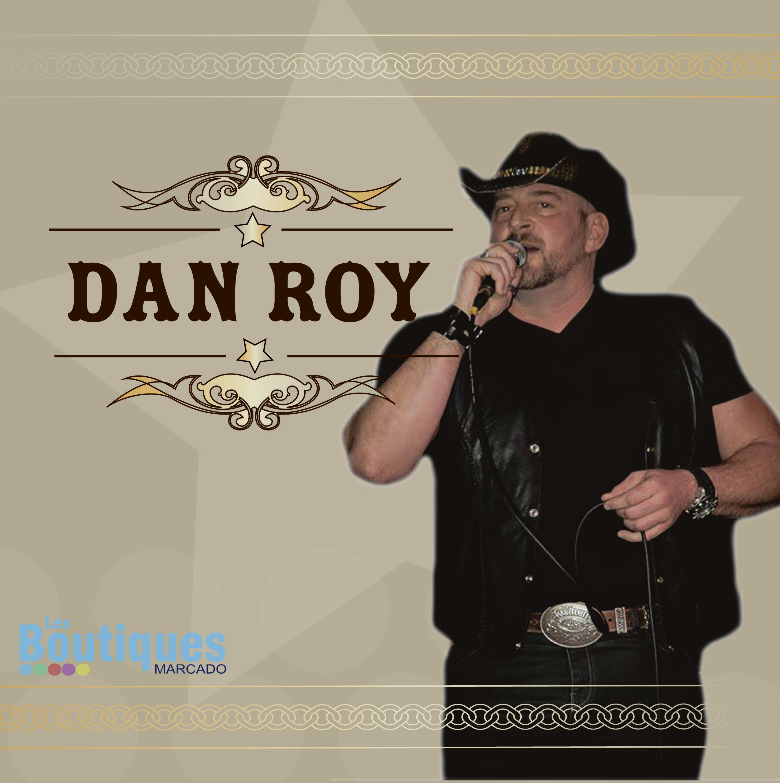 chanteur Dan roy aux Boutiques marcado